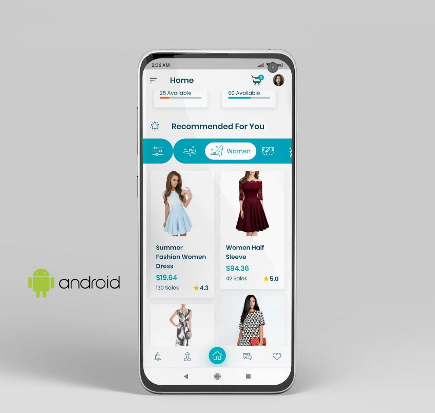 eCommerce Mobile Apps for Android